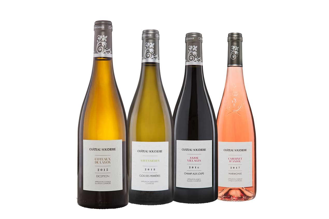 Les vins du Domaine de la Soucherie