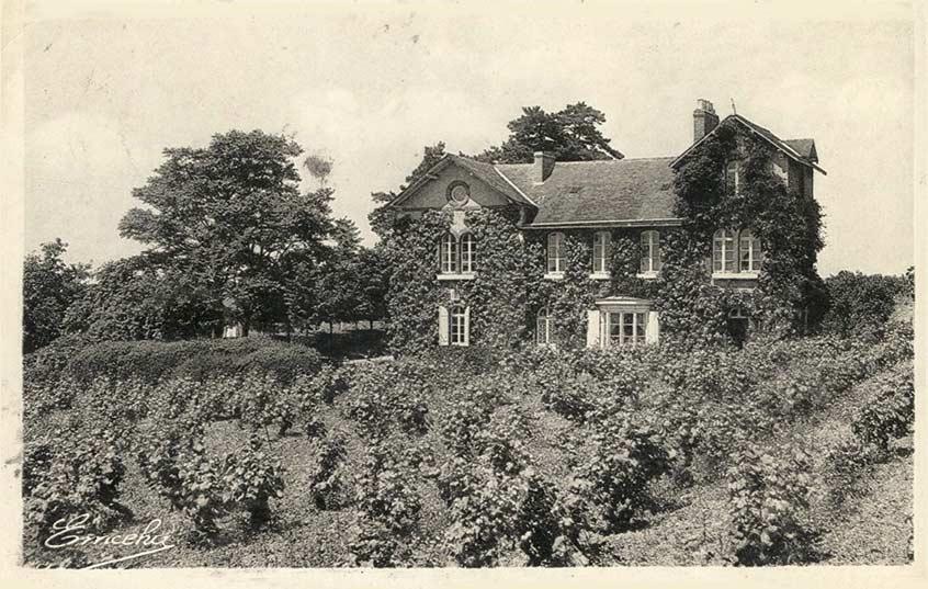 Le Domaine de la Soucherie en 1951